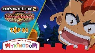 CHIẾN XA THẦN THÚ - phần 2 (OptiMorph 2)   Tập 1 : Hành Trình Khám Phá Vũ Trụ - Phim hoạt hình mới