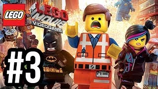 The LEGO Movie Videogame Walkthrough PART 3 Let's Play