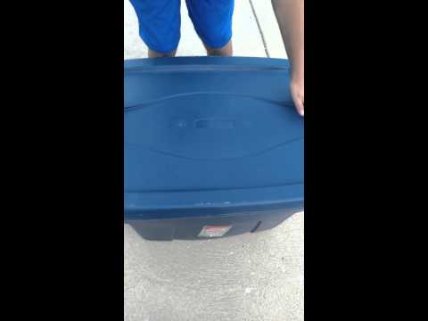 KID ALMOST DIES TRAGIC ACCIDENT 2014 BOX THROW
