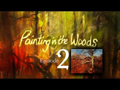 Hình ảnh trong video Painting in the Woods 1 - how to do oil