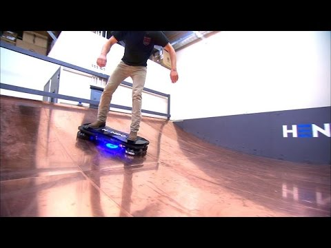 CNET News - The hoverboard is now real and it may save us in an earthquake