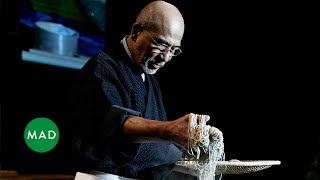 Soba Master Tatsuru Rai demonstrates his craft at MAD4