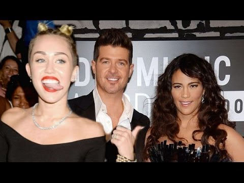 Robin Thicke & Paula Patton Separate