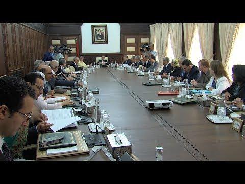 مجلس الحكومة يعقد اجتماعه الأسبوعي بالرباط