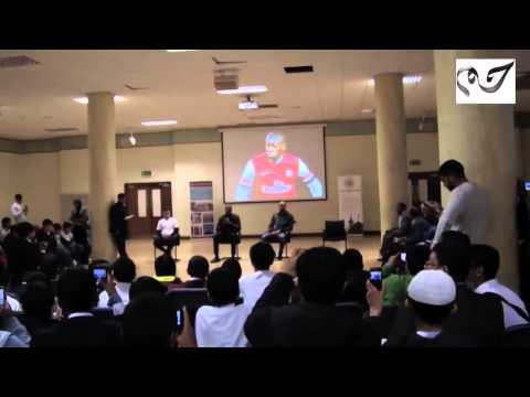 Arsenal Footballer Abou Diaby's Quran recitation at East London Mosque / London Muslim Centre