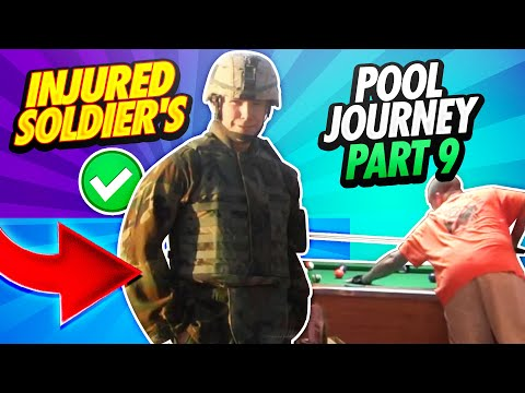 14 Days - The Great Pool Experiment Reno, Nevada - Sgt. Robert Evans, US Army (RET) - Day 8