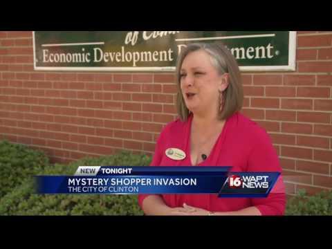 Secret shoppers in Clinton