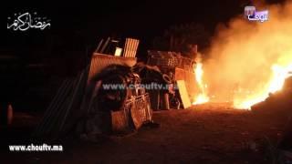 بالفيديو..لافيراي ديال عين برجة بالبيضاء تحترق و المواطنين كايطفيو العافية بالسطولة ديال الماء |