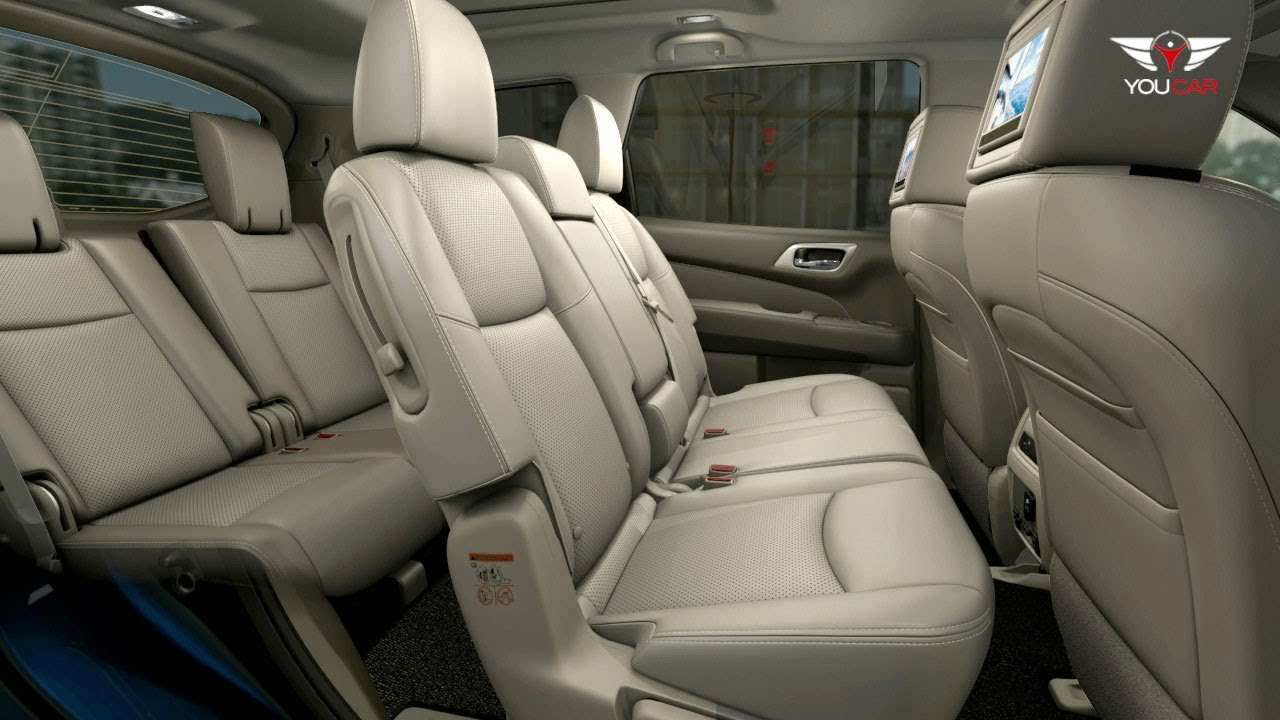 3rd Row Grand Cherokee >> 2013 Nissan Pathfinder INTERIOR: Seats - YouTube