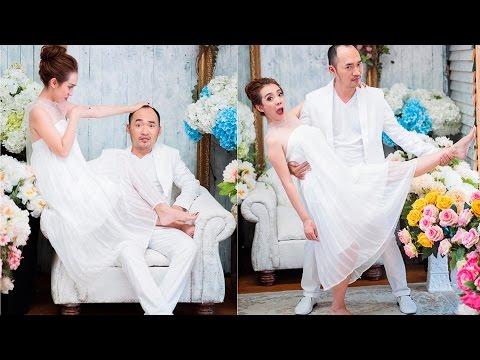 Thu Trang Tiến Luật kỉ niệm 6 năm ngày cưới,  tung ảnh 'hấp hôn' đúng kiểu diễn viên hài