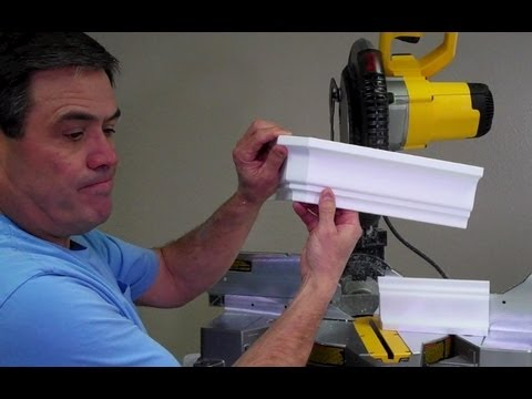 how to cut outside corner crown molding site youtube.com