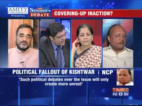 The Newshour Debate: Quoting Gujarat to defend Kishtwar - Part 4
