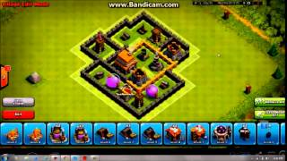 Clash Of Clans Level 5 Town Hall Best Defense Setup