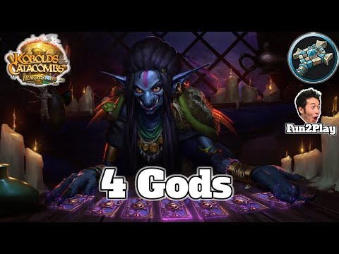 4 Old Gods Priest Kobolds and Catacombs | Hearthstone Guide How To Play