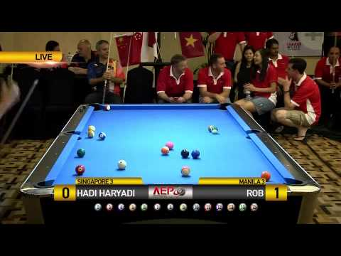 Hadi Haryadi (Singapore) vs Rob (Manila)