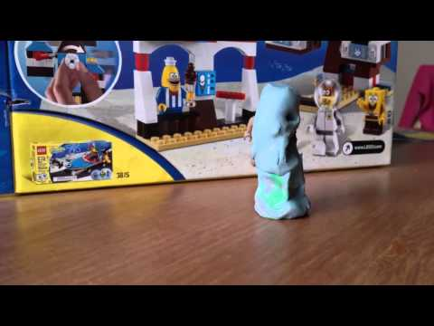 Blue tube guy having fun barfing