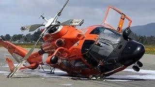 Cận cảnh 15 pha quay được máy bay trực thăng rơi vỡ.