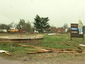 Raw: Tornado Damaged Missouri School, Fire House