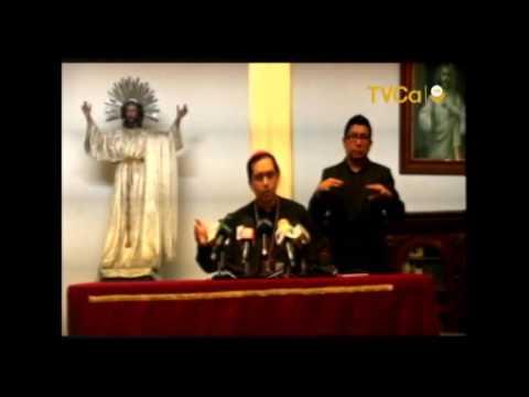 Arzobispo de San Salvador llama a que se apruebe la Ley General de Aguas.