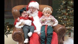 Meeting Santa GONE WRONG!!