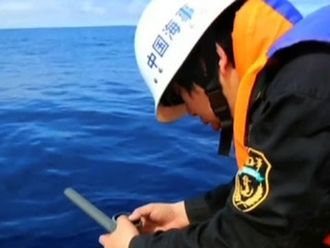 Chinese ship reportedly detects signal in plane search