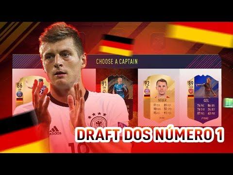 FUT DRAFT DA SELEÇÃO NÚMERO 1 DA FIFA!!! NOVA SERIE DE DRAFT