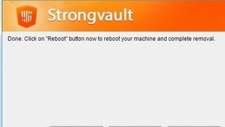 How To Uninstall Strong Vault Completely? Remove Strong