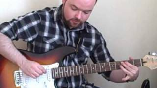 Easy Country Guitar Cool Ending Licks