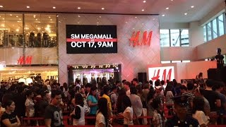 H&M Philippines SM Mega Fashion Hall SM Megamall Manila