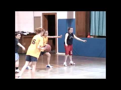 6th Grade Girls All Star Game 4-6-05