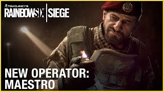 Rainbow Six Siege - New Operator: Maestro