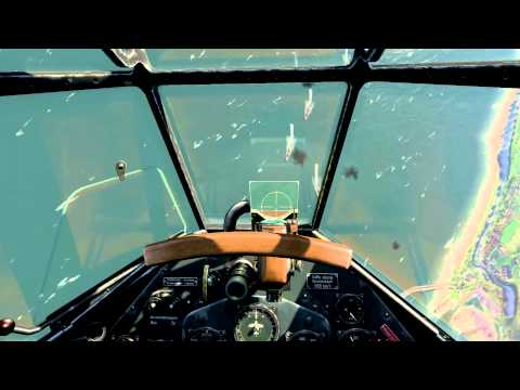 IL-2 Cliffs of Dover - Dive bombing Dover Harbour in the Ju-87 Stuka (Jericho Trumpet)