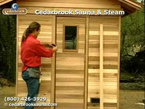 how to build a sauna