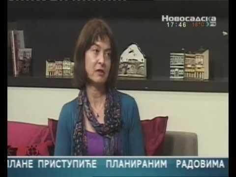Smeh joga u emisiji Novosadsko popodne - Novosadska TV / Laughter Yoga on the Novosadska TV