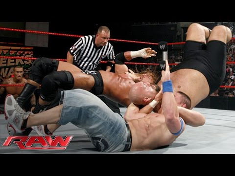 Cena vs. Orton vs. Triple H vs. Big Show — Fatal 4-Way WWE Championship Match: Raw, June 15, 2009