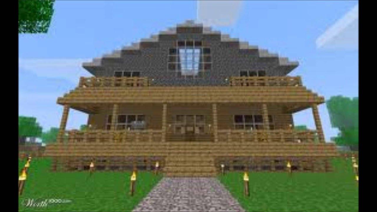 Minecraft le 7 case pi belle youtube for Foto di belle case