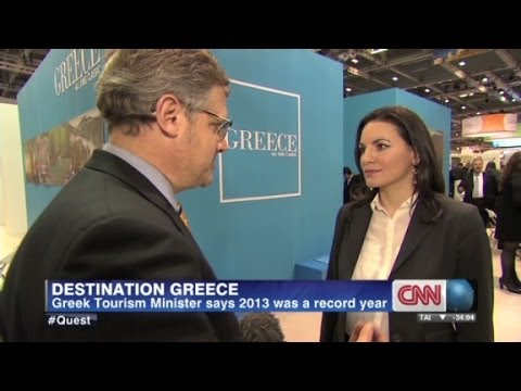Tourism up in Greece