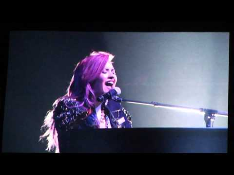 Warrior (speech) - Demi Lovato - Indy 3/30/14