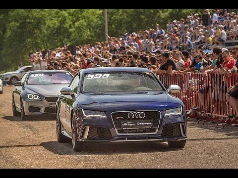 Трка на германските чудовишта: Audi RS7, Bmw M3, Mercedes CLS 63 AMG, Porsche 911 Turbo