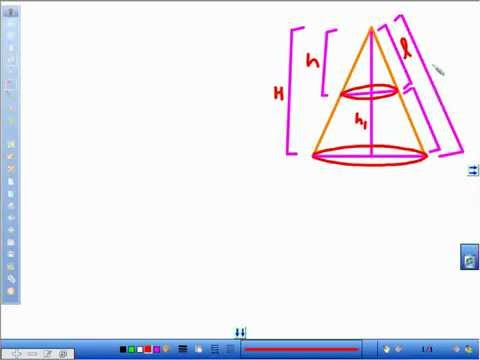 DERIVATION of FRUSTUM of CONE - AVTE (Leader in CBSE Coaching)