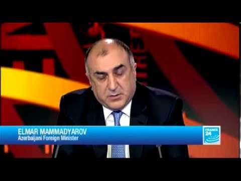 2013 07 25  France24 Elmar Mammadyarov, Azerbaijani Foreign Minister   THE INTERVIEW