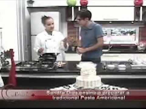 Como preparar pasta americana - Sandra Dias