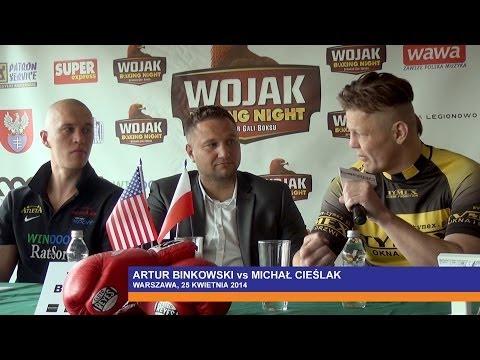 Cieślak vs Binkowski na konferencji prasowej