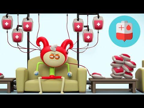 AstroLOLogy: Blood Donor   3D Funny Cartoons For Kids   Cartoon Crush