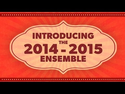 Introducing the 2014-15 Ensemble / Place à l'Ensemble 2014-2015