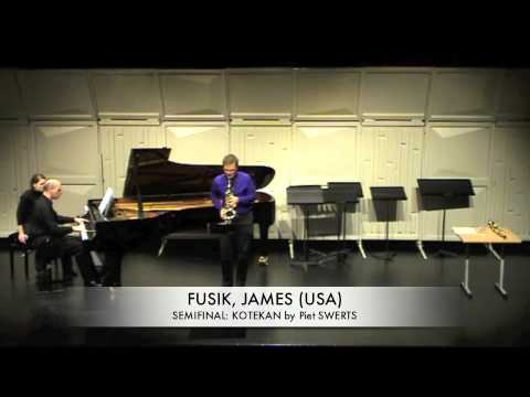 FUSIK, JAMES (USA) KOTEKAN by Piet SWERTS