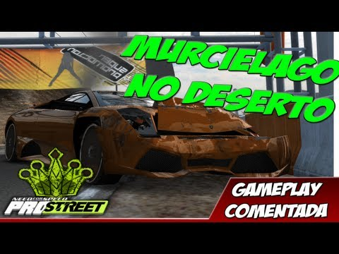 NFS Pro Street: Murcielago no deserto