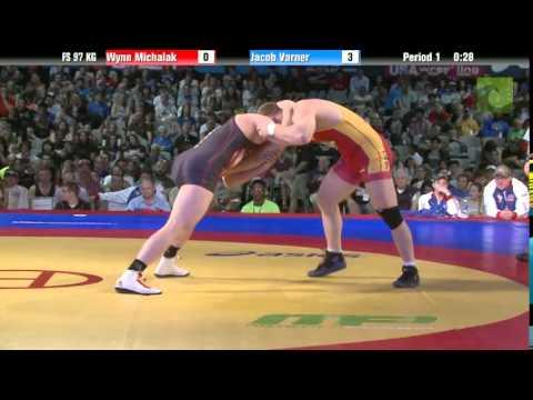 97 KG Finals - Wynn Michalak (TMWC) vs. Jake Varner (NLWC)
