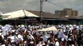 #5 Ethio Muslim Peaceful Demonstration On Apr/11/2014 at Addis Ababa Anwar Masjid