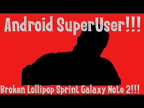 Broken Lollipop for Sprint Galaxy Note 2